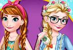 Modern Frozen Sisters