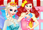 Elsa Clothes Shop