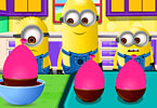 Minions Balloon Chocolate Bowls