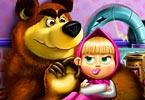 Masha and Bear Toys Disaster