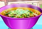 Mulan Makes Noodle Soup