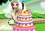 Elsas Wedding Cake Cooking