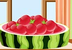 Watermelon Balls Cake