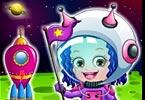 Baby Hazel Astronaut