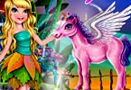 Fairy Barbie Farm Town