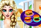 Princess Elsa Burger Shop