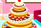 لعبة كعكة زفاف سندريلا