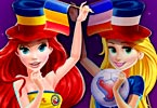 Disney Princesses Euro 2016