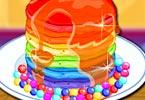 Rainbow Pancake Cooking