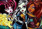 Not a Monster High Dress Up Game