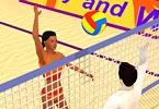 Summer Sports Beach Volleyball