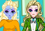 Elsa Magic Fashion Makeover