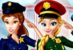 Disney Girls At Police Academy
