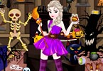 Elsa Halloween Shop Cleaning