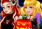 Princesses Halloween Challenge