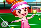 Baby Hazel Tennis Player Dressup