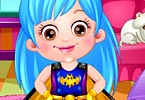Baby Hazel Supergirl Dressup