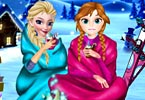 Frozen Sisters Winter Holiday