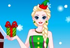 Elssie Princess Christmas Dress Up