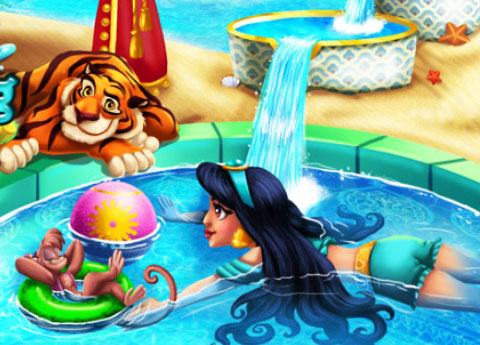 Arabian Princess Swimming Pool