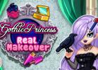 Gothic Princess Real Makeover