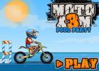 MOTO X3M Cursa pe Plaja