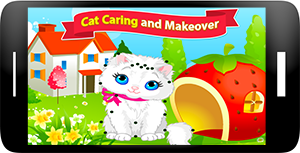 Cat Caring and Makeover Screenshot 1