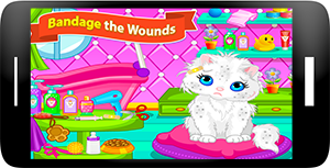 Cat Caring and Makeover Screenshot 2