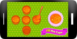 Carrot Cupcakes - Coking Games Screenshot 5